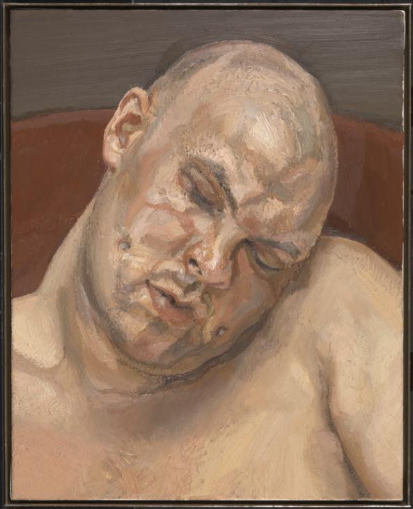 Leigh Bowery 1991 by Lucian Freud 1922-2011