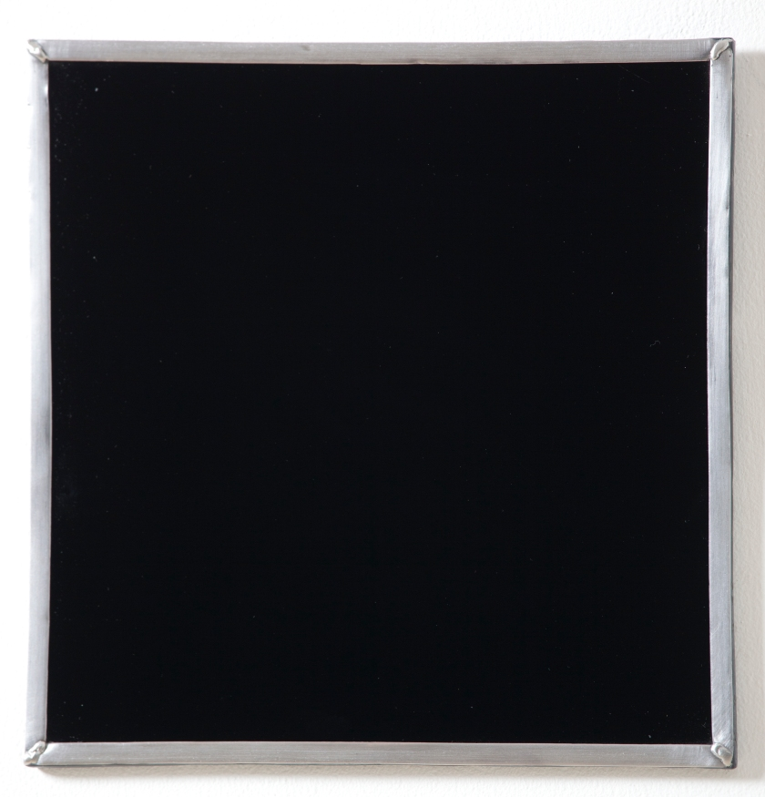 n durvasula 'no search', glass, steel frame, 2012.jpg