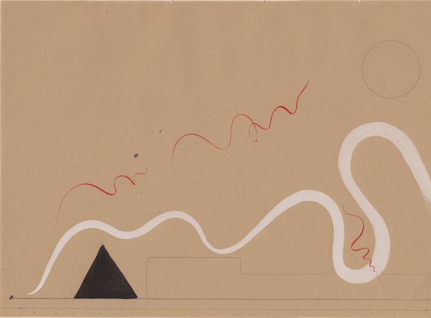 Nicola Durvasula 'Brockley Variation' watercolour, gouache, pencil on paper 2014, 'Thinking Tantra'    .jpg